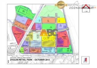 Pozemok - lukratívna komerčná zóna - Retail park Zvolen