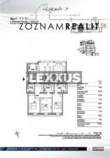 PRENÁJOM, 4-izbový byt v luxusnej rezidencii Hlboká 7, BA I