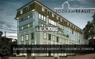 PRENÁJOM, 3i byt v luxusnej rezidencii Hlboká 7, Staré Mesto