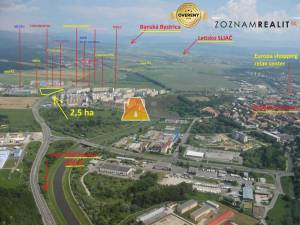 Stavebný pozemok - Zvolen - pre investorov