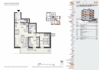 PREDAJ, 3-izbový byt v projekte Pekná vyhliadka, Dúbravka