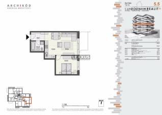 PREDAJ, 2-izbový byt v projekte Pekná vyhliadka, BA IV.