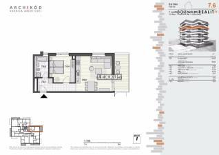 PREDAJ, 2-izbový byt v projekte Pekná vyhliadka