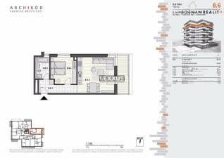 PREDAJ, 2-izbový byt v projekte Pekná vyhliadka, Dúbravka