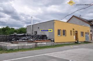 Areál administratívna budova + sklady Košťany nad Turcom