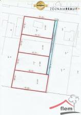Pozemok na predaj, 1071,5 m2, Vráble – časť Dyčka, rovinatý, slnečný