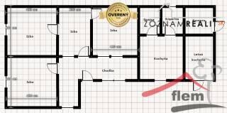 4-izbový dom na predaj, Lúčnica nad Žitavou, pozemok 2076 m2