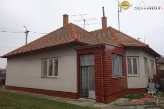 RD na predaj Vráble, pôvodný stav, pozemok 1088 m2
