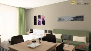 Apartmán na predaj 25,29m2, Podhájska, 1.poschodie